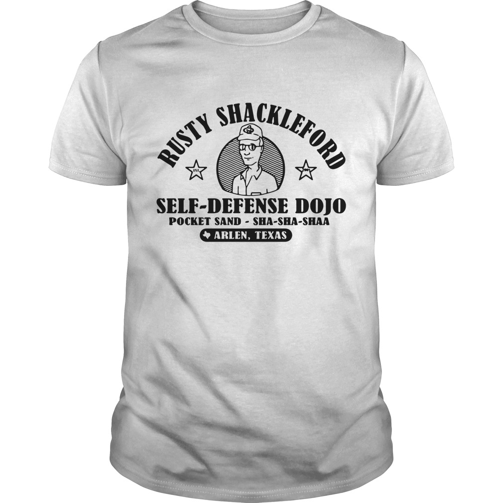 Rusty Shackleford self-defense dojo pocket sand Guys Shirt