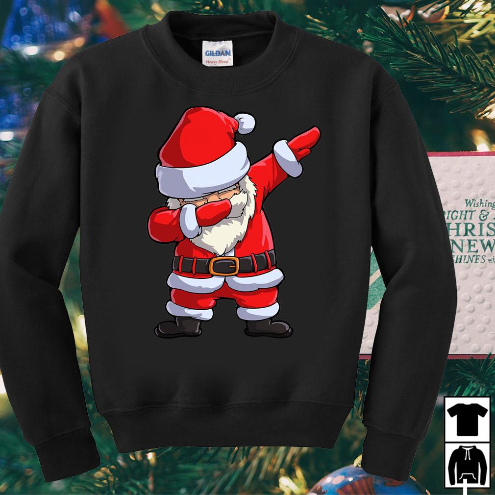 Santa Claus Dabbing Christmas Ugly sweater