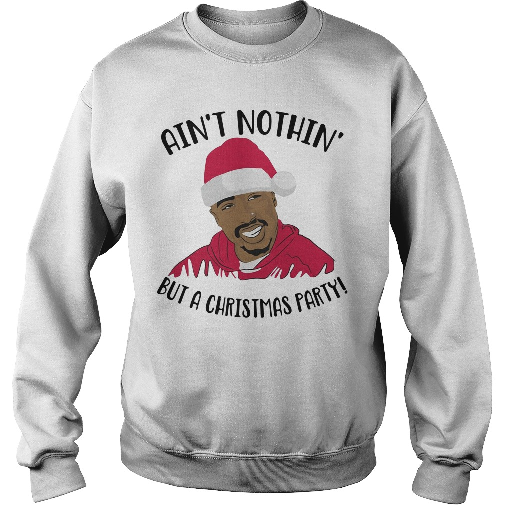 Santa Puff Daddy Ain't nothin' but a Christmas party Sweater