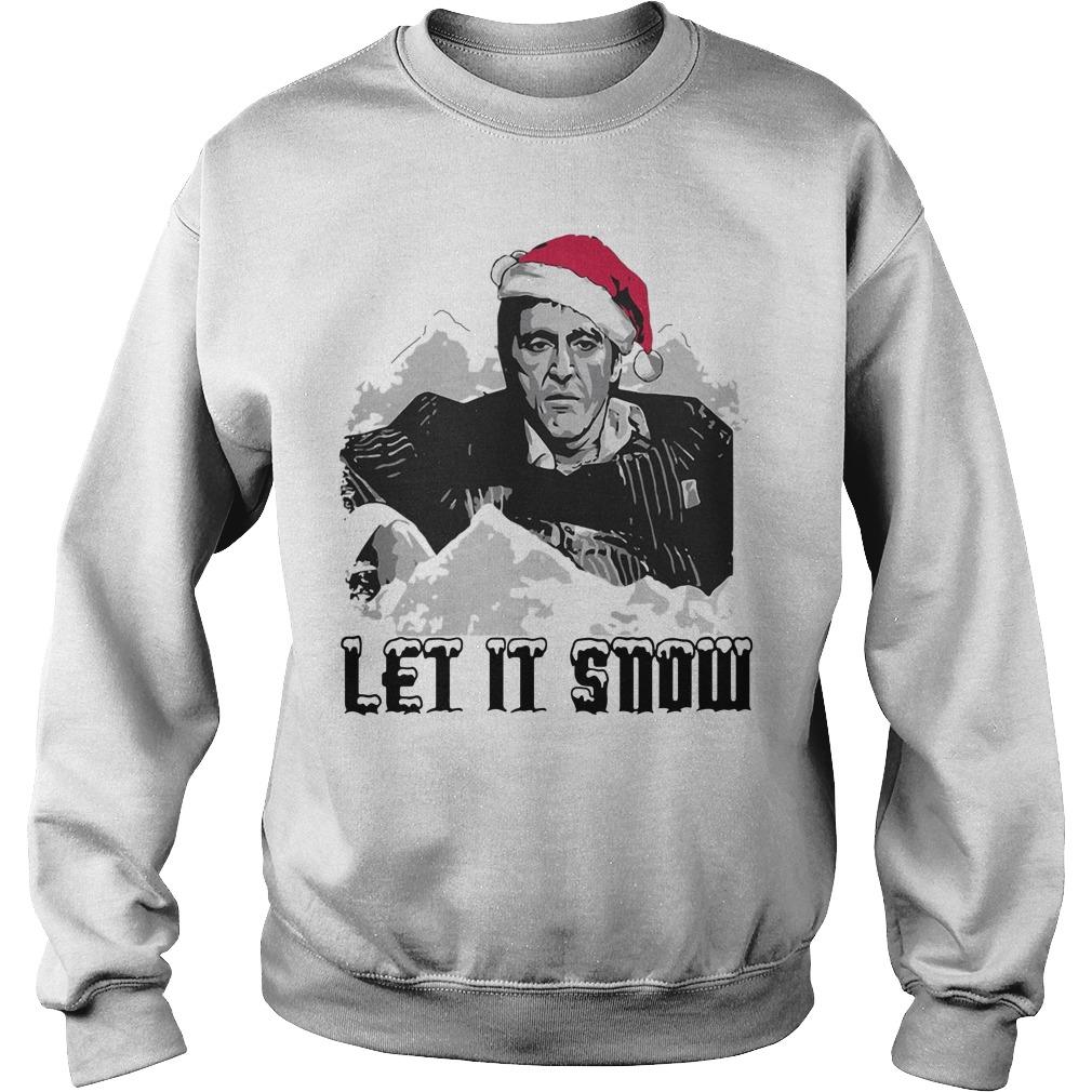 Scarface Let It Snow Christmas Sweater Minhhoa2695s Blog