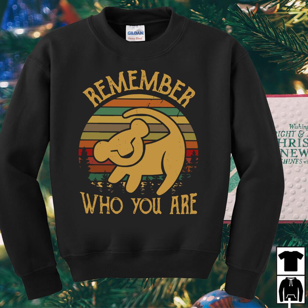 Simba remember who you are vintage shirt