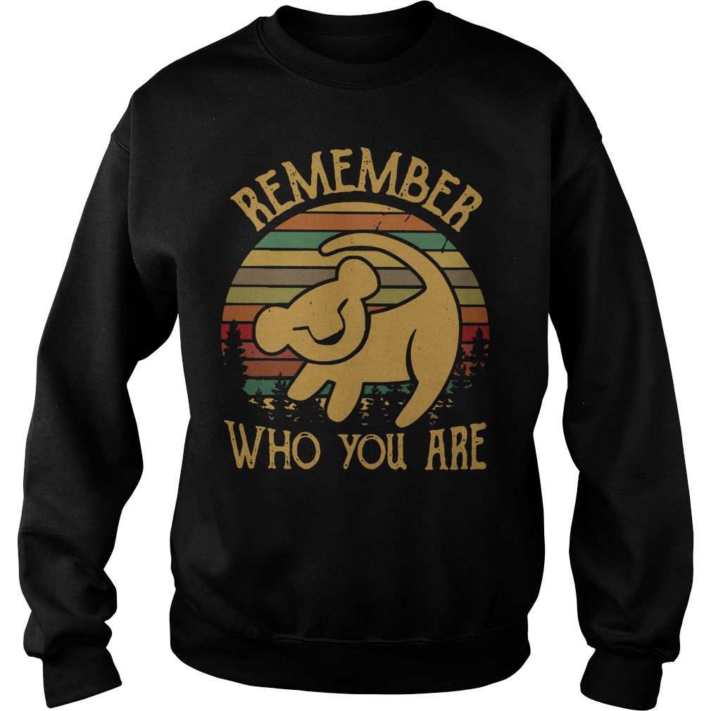 Simba remember who you are vintage Sweater