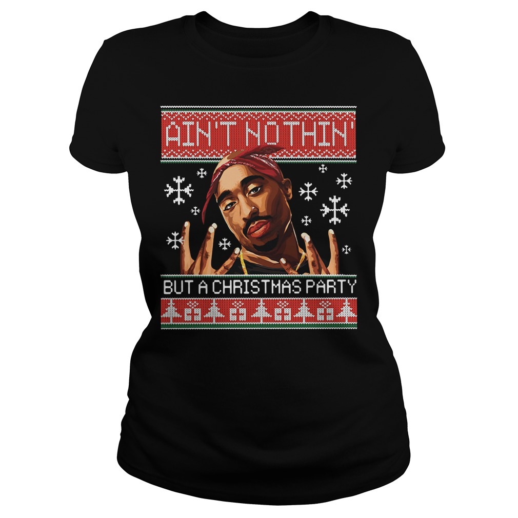 Snoop Dogg Aint Nothin But A Christmas Party Ugly Sweater Dungcoban