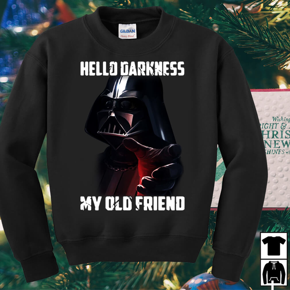 Star Wars hello darkness my old friend shirt