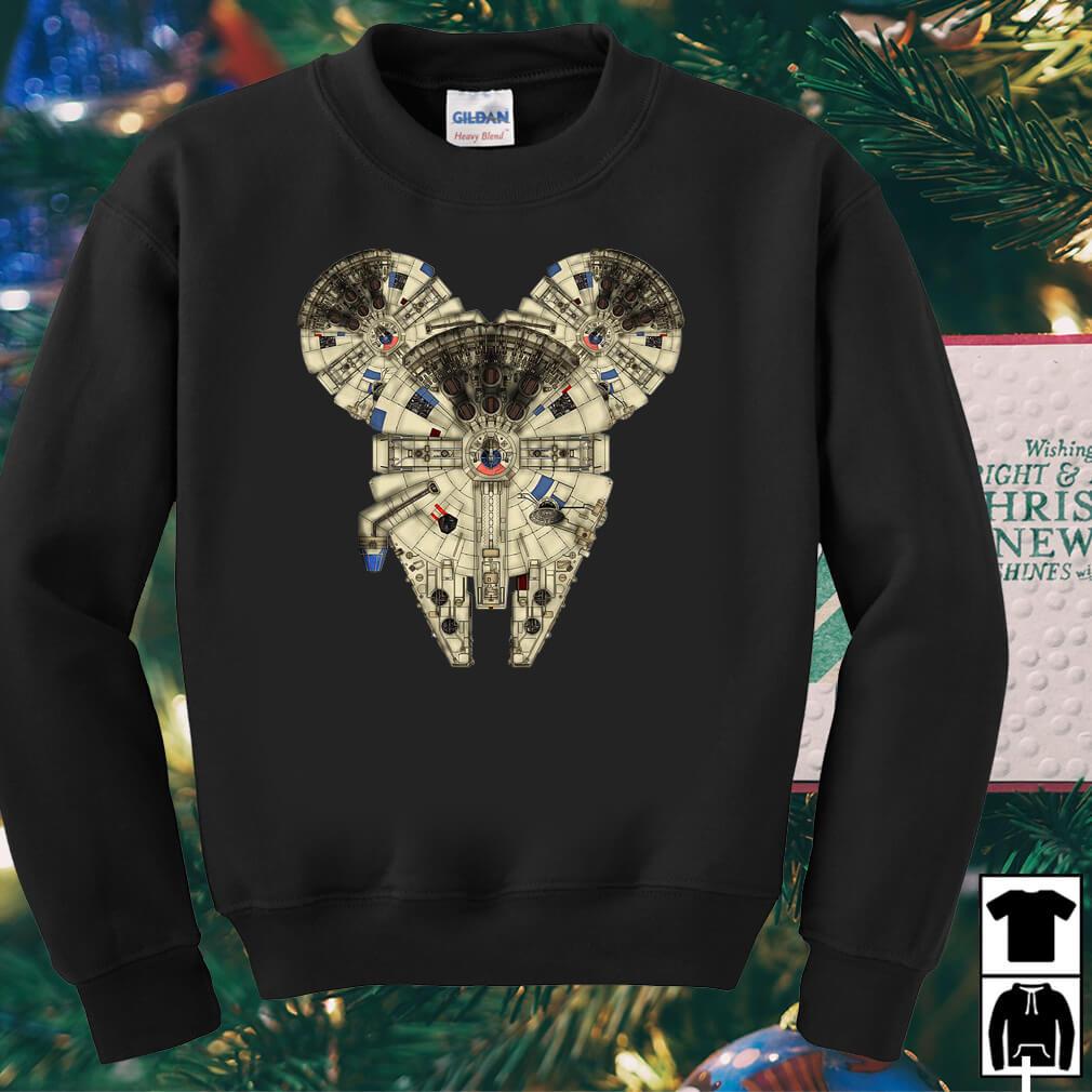 Star Wars Millennium Falcon Mickey shirt