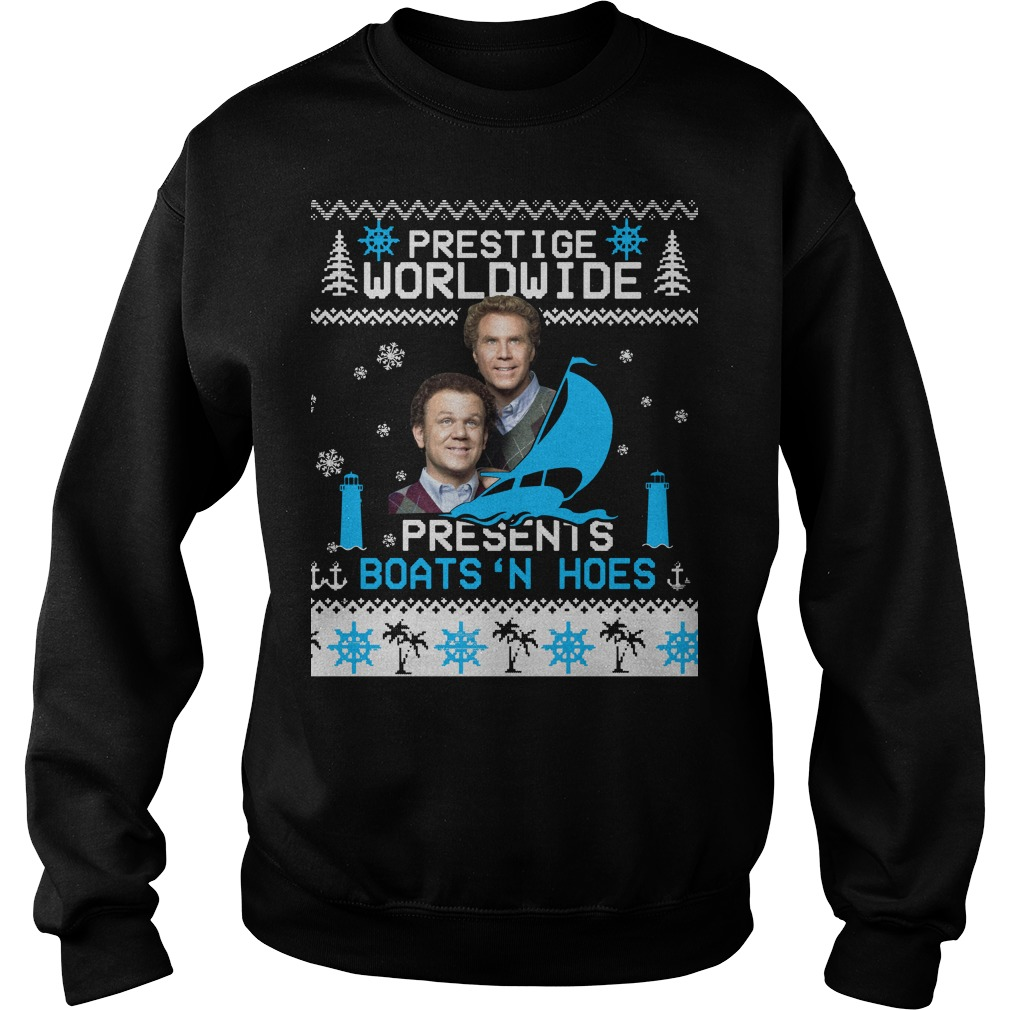 Step Brothers Prestige Worldwide Presents Boats 'N Hoes Sweater