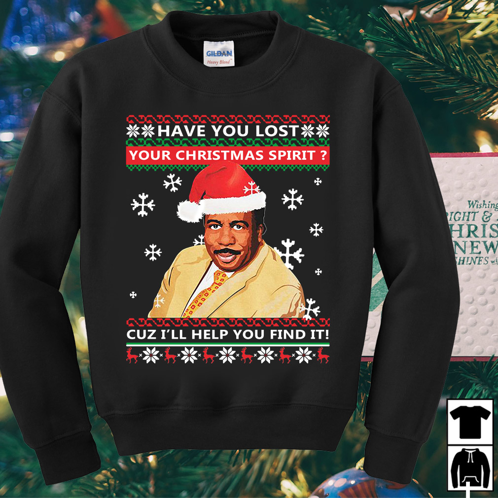 Steve Harvey Have you lost your Christmas spirit cuz I'll help sweater