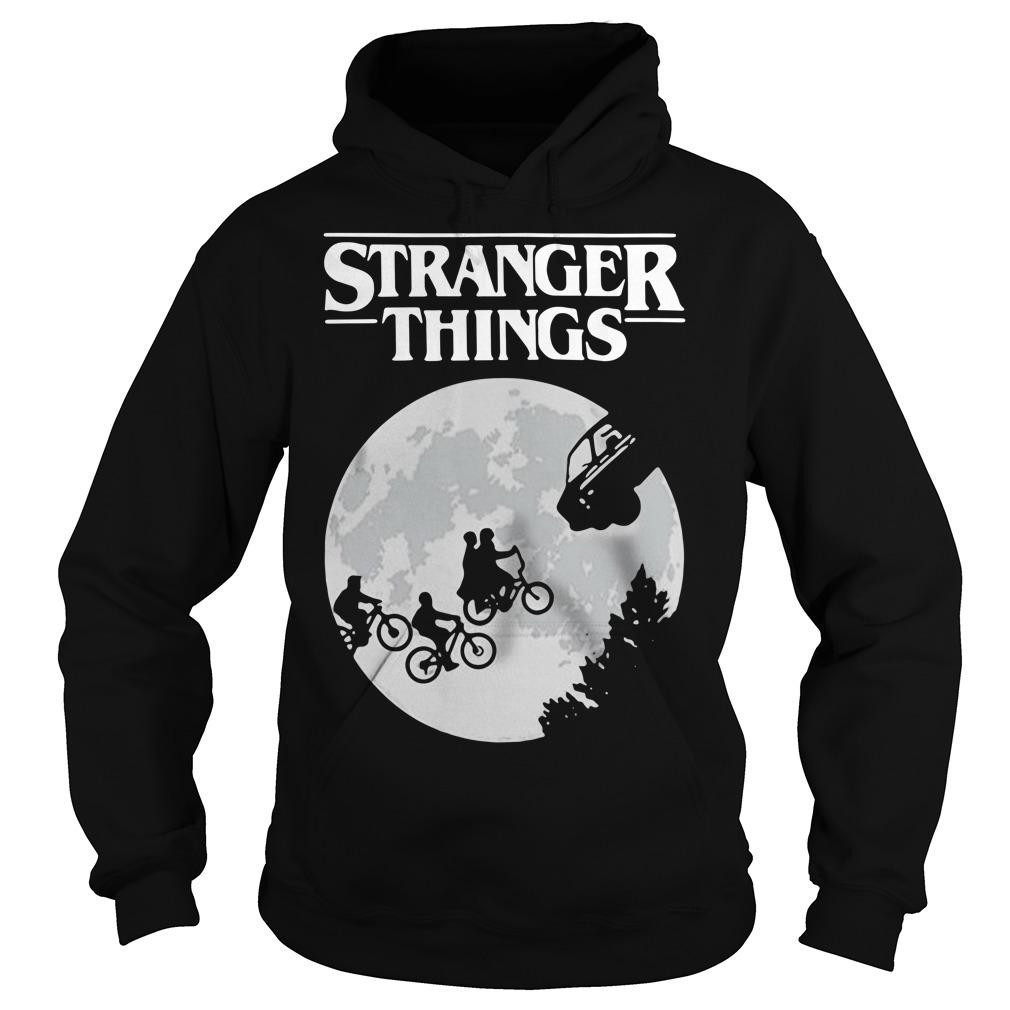 Stranger Things ET Moon Hoodie
