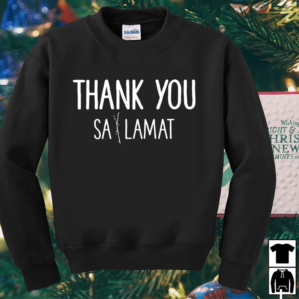 Thank you sa lamat shirt