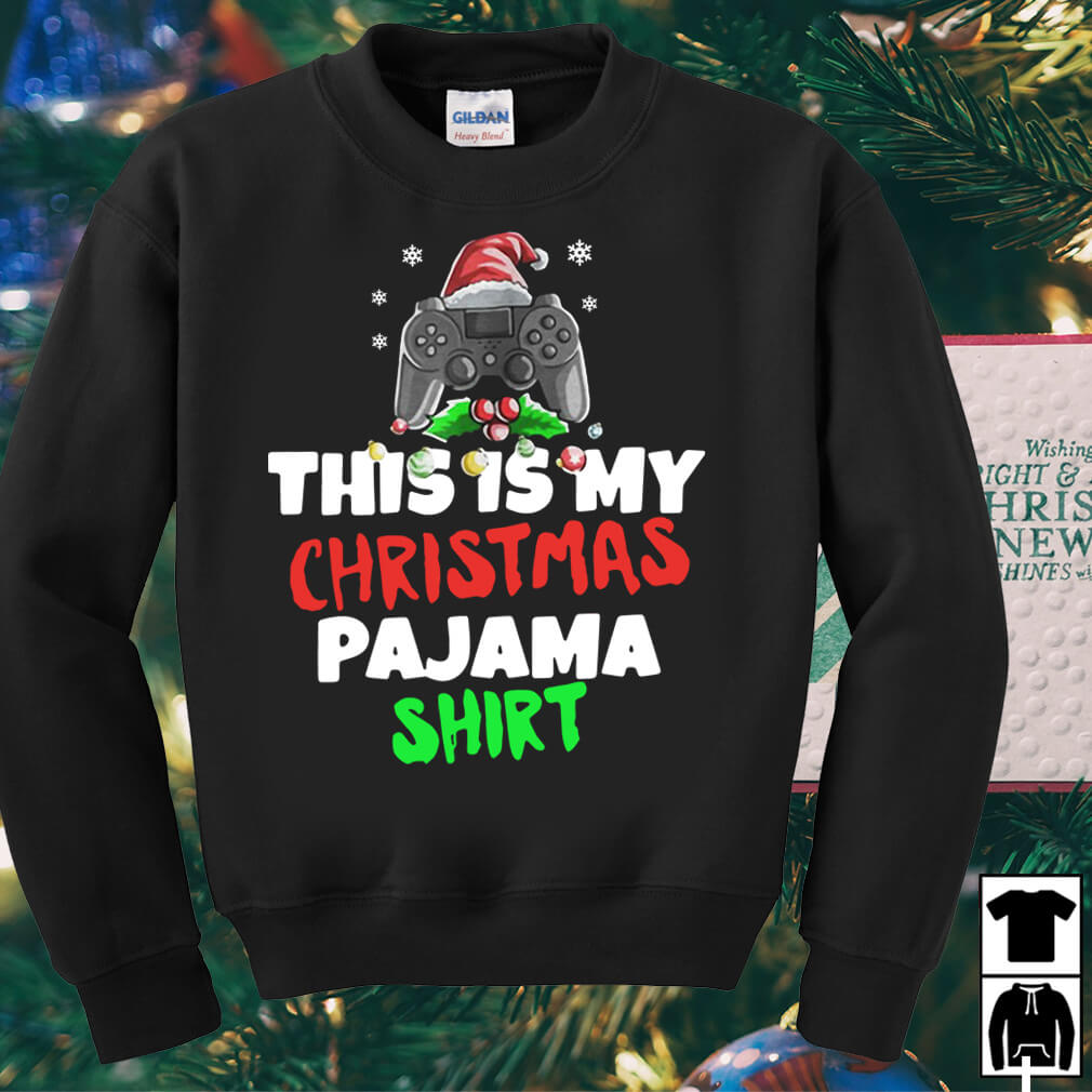 This is My Christmas Pajama Gamer Video Game sweater