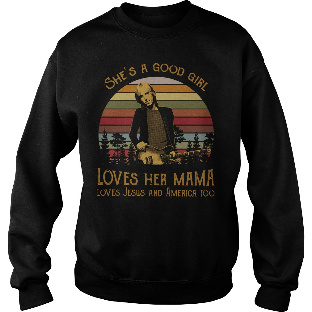 Tom Petty She's a good girl loves her mama vintage Sweater