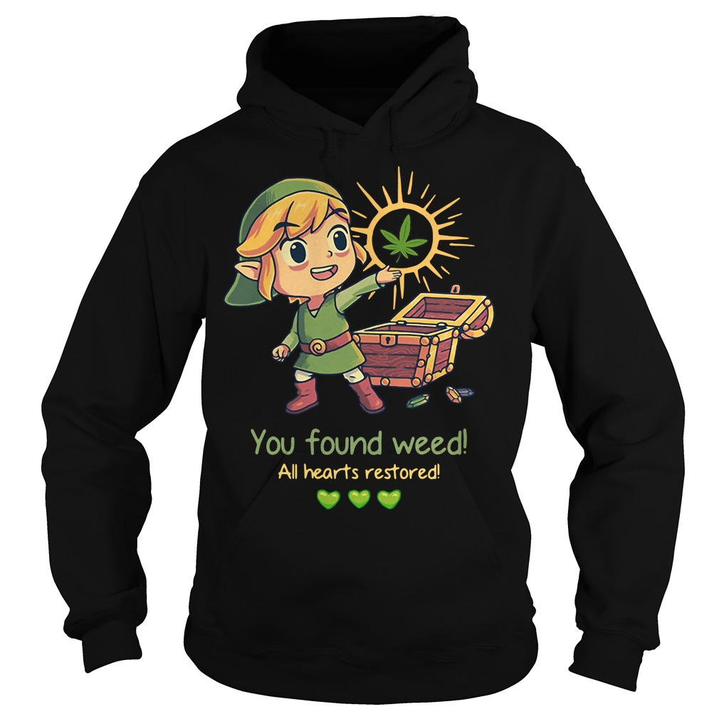 Twilight Princess You found weed all hearts restored Hoodie