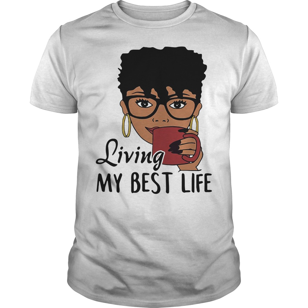 Unbothered Living my best life Guys Shirt