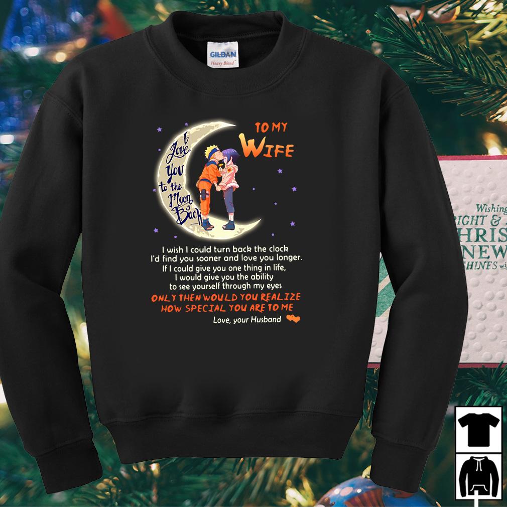 Uzumaki Naruto I love you to the Moon and back shirt