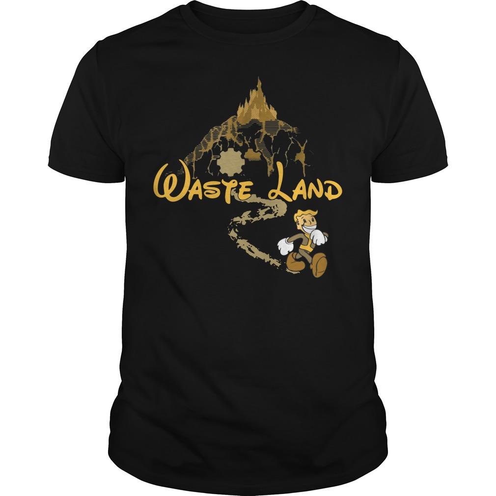 West Virginia wasteland disney Guys Shirt