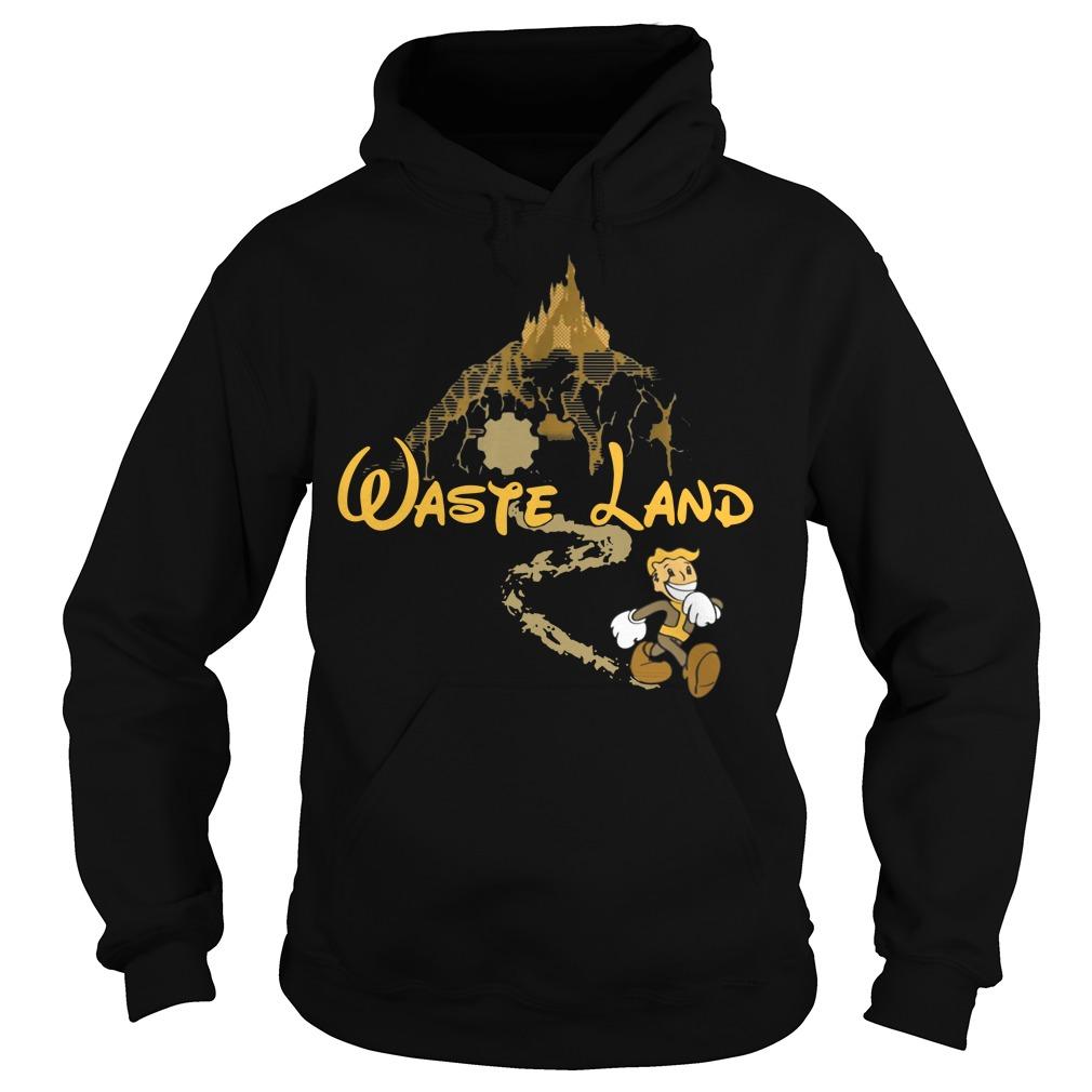 West Virginia wasteland disney Hoodie