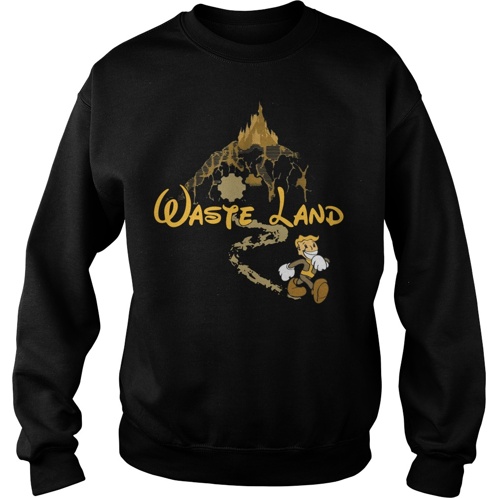West Virginia wasteland disney Sweater