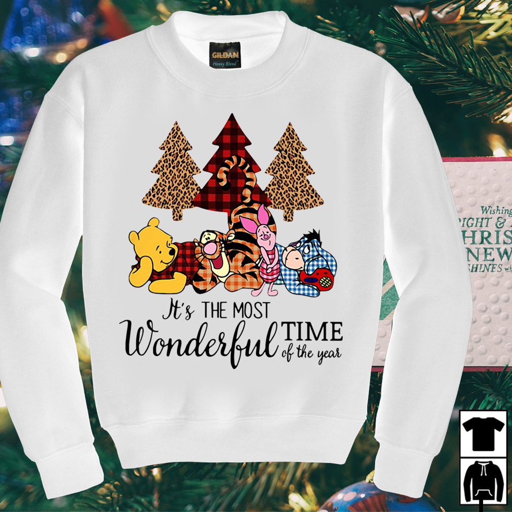 Winnie the Pooh it's the most wonderful time of the year shirt
