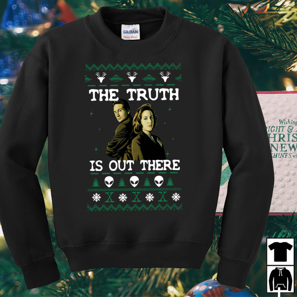 The X-Files The truth is out there Christmas sweater