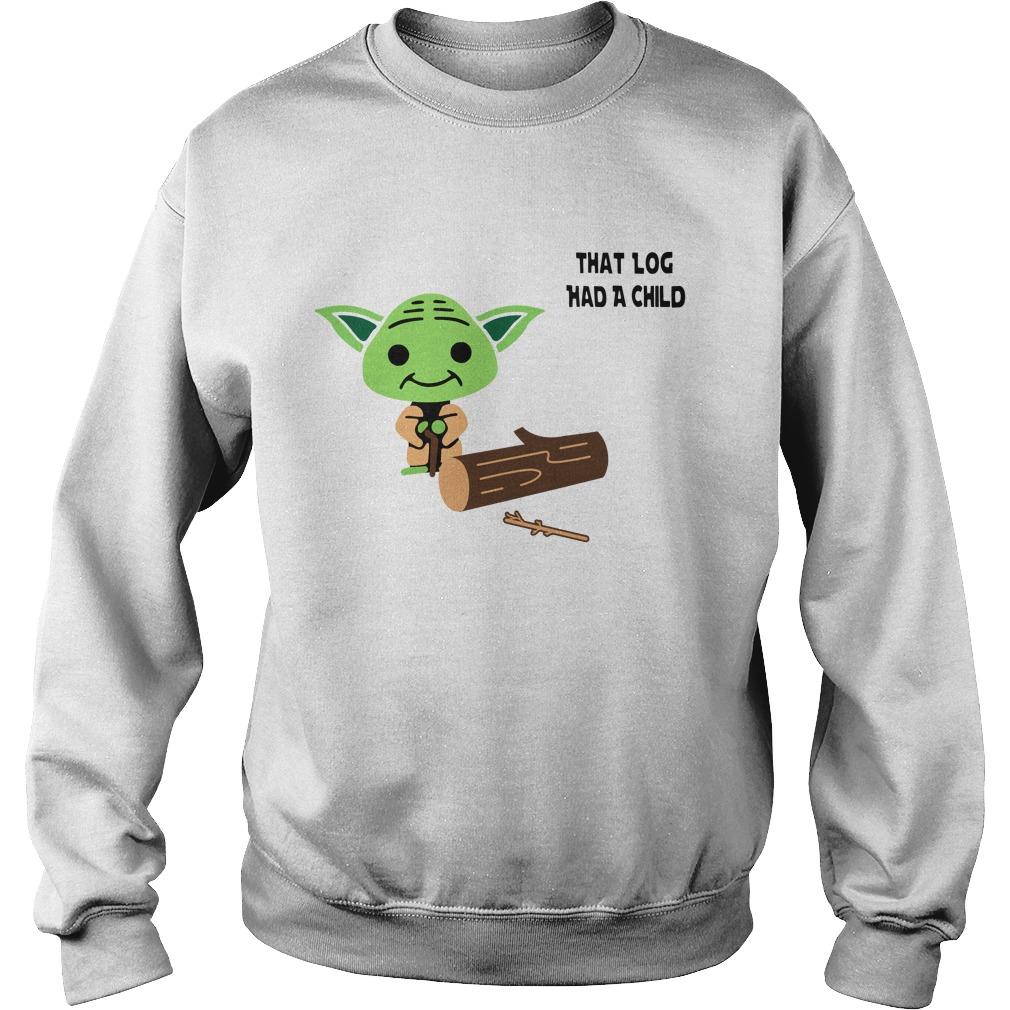 Yoda Seagulls that log had a child Sweater