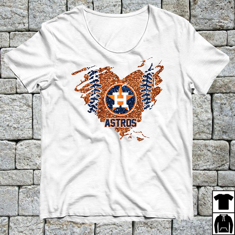 Official Houston Astros football love shirt