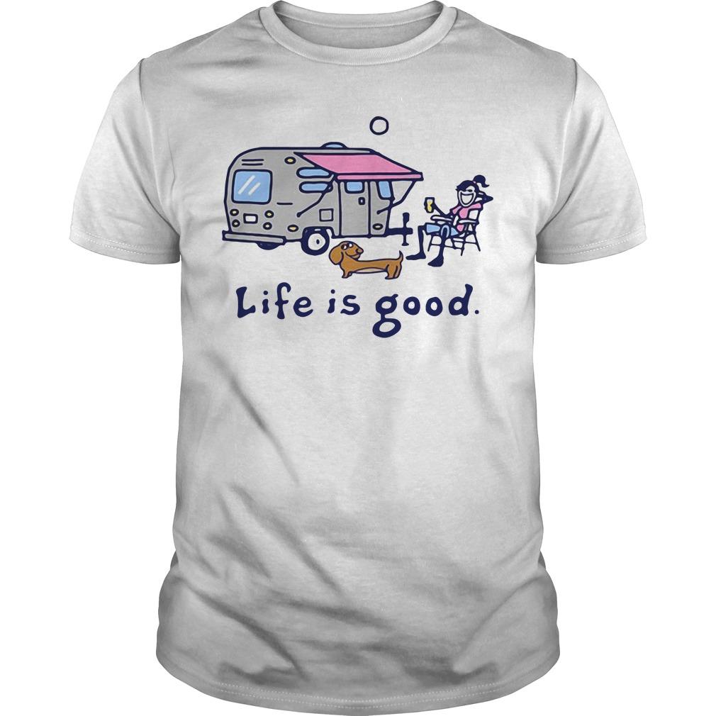 Airstream Lemonade Life is good Guys Shirt