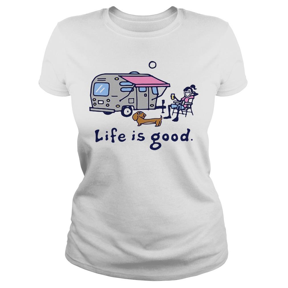 Airstream Lemonade Life is good Ladies tee