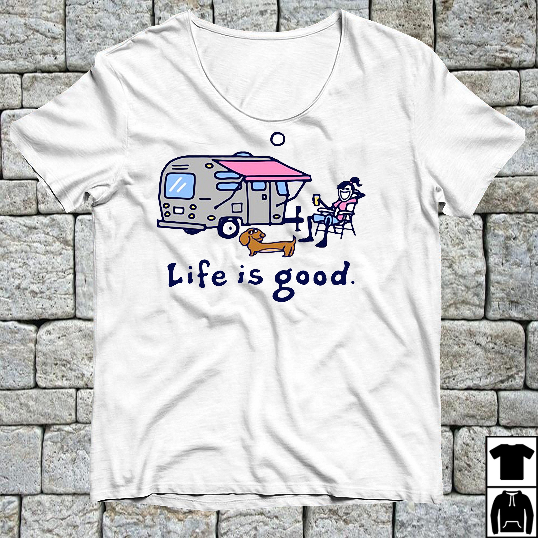 Airstream Lemonade Life is good shirt