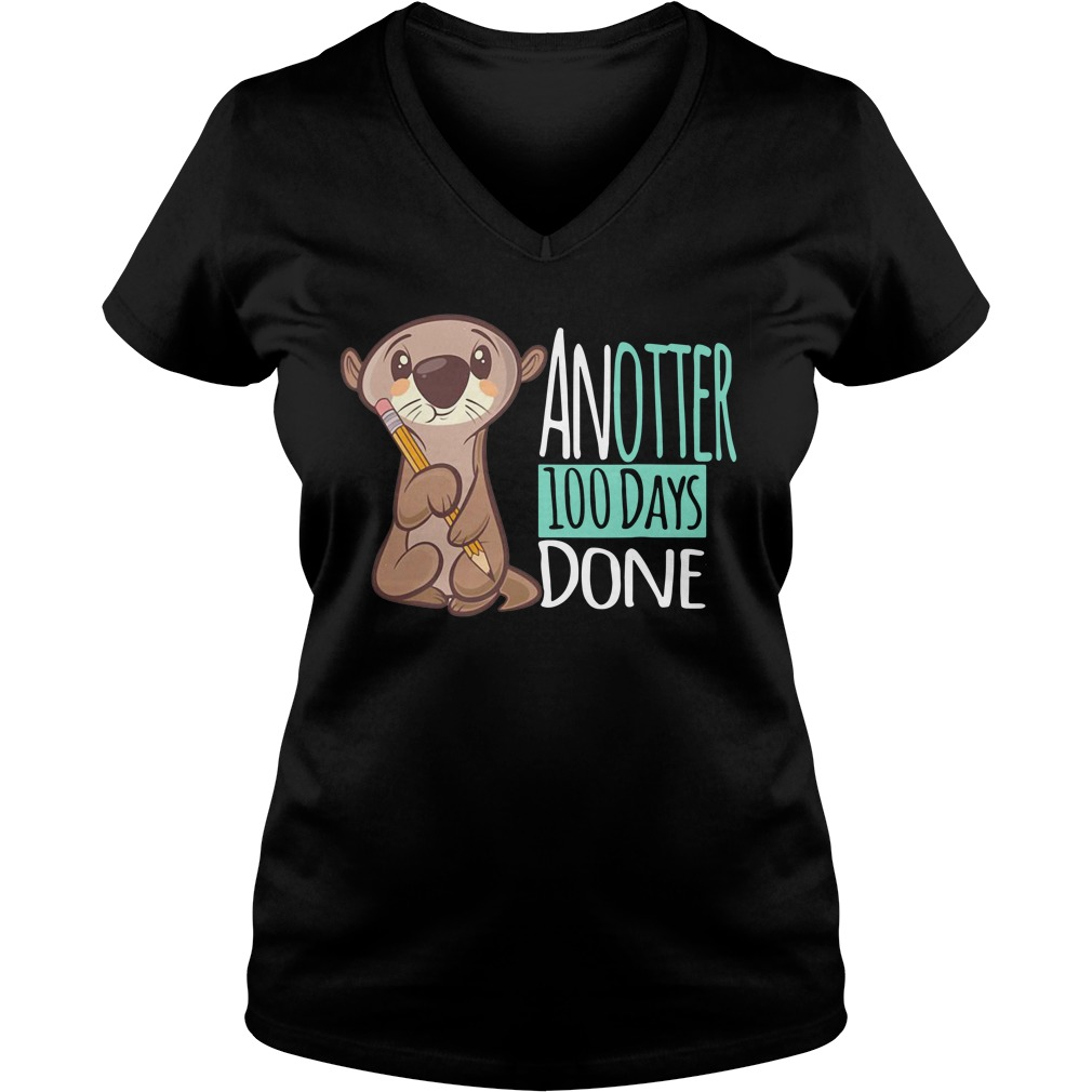 Another 100 days done V-neck T-shirt