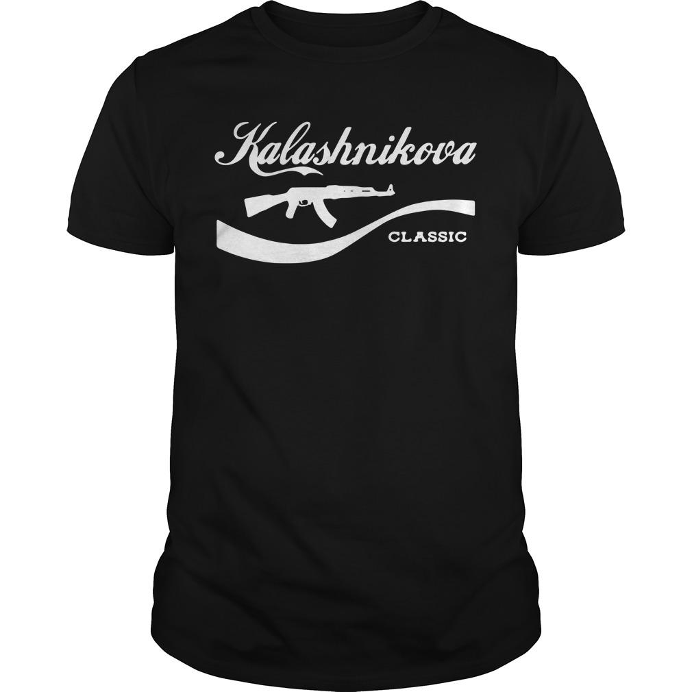 BattleRaddle Kalashnikova Rifle classic Guys Shirt