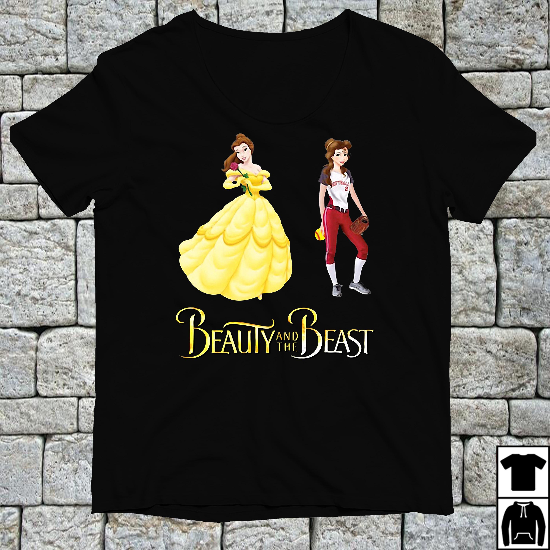 Beauty and the Beast Belle baseball shirt