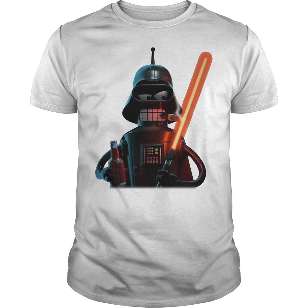 Cartoon Star Wars Darth Vader Guys Shirt