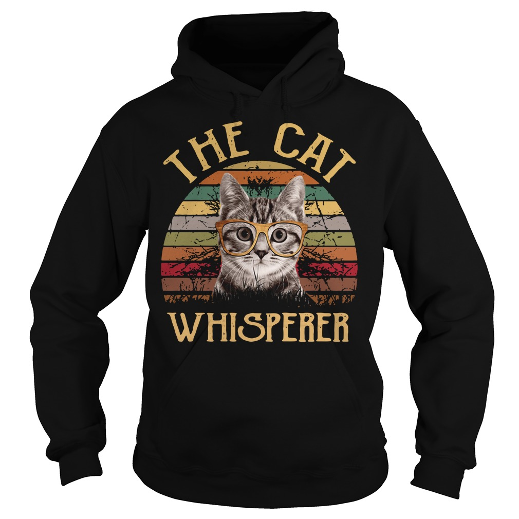 The cat whisperer vintage Hoodie