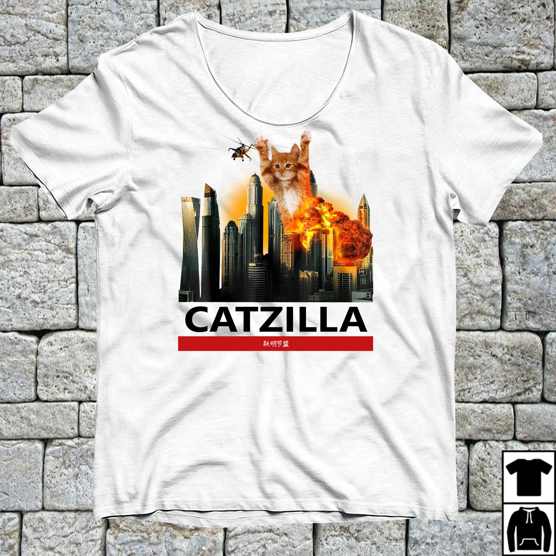 CatZilla Kitten over Tokyo shirt