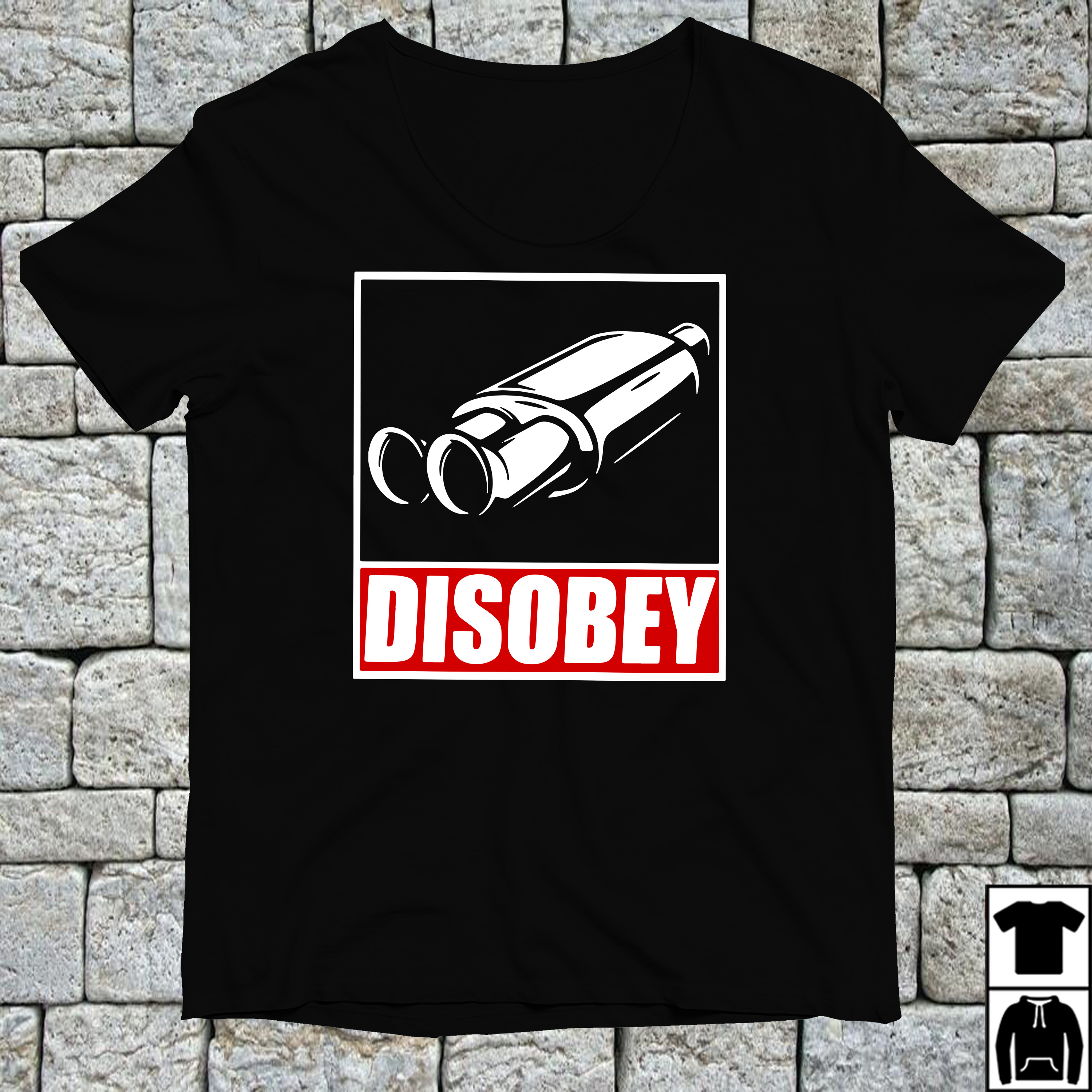 Clarkson Hammond and May disobey exhaust pipe shirt