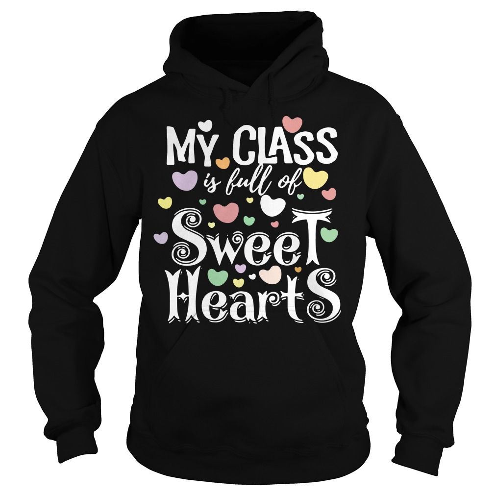 My class is full of Sweet hearts Hoodie