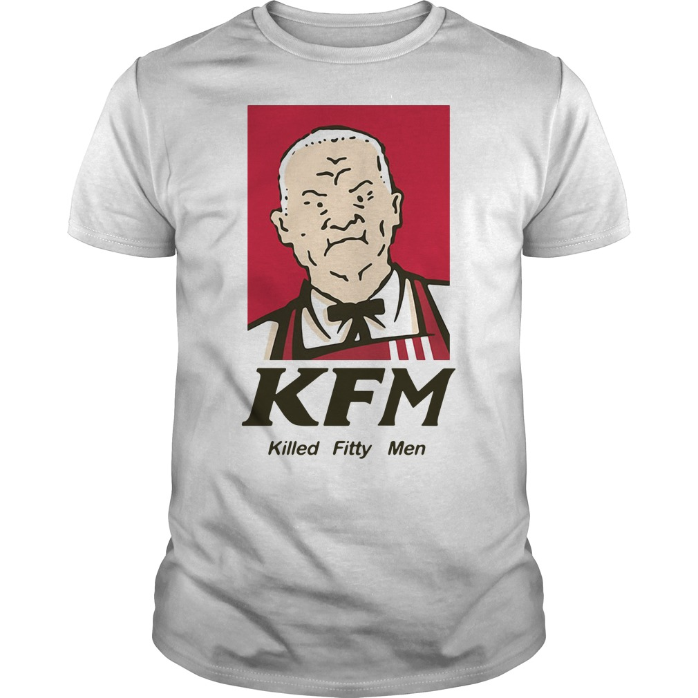 Cotton Hill KFM killed fitty men Guys Shirt
