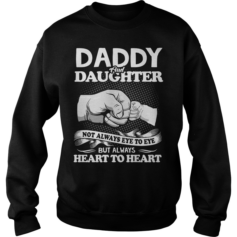 Daddy and Daughter not always eye to eye Sweater