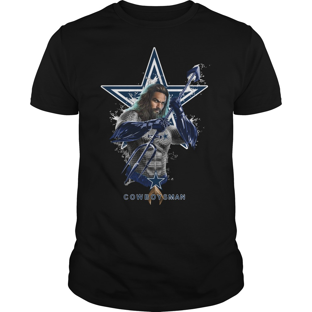 Dallas Cowboys Aquaman Cowboys man Guys Shirt
