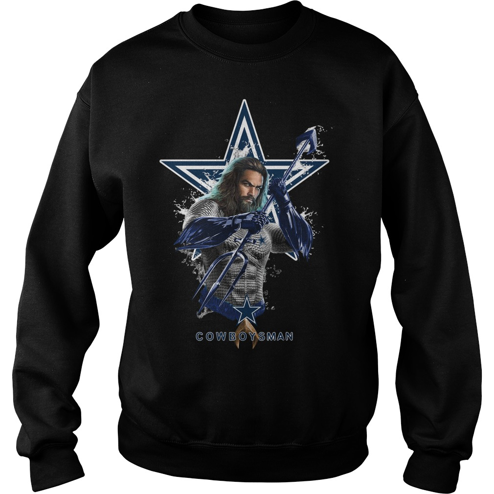 Dallas Cowboys Aquaman Cowboys man Sweater