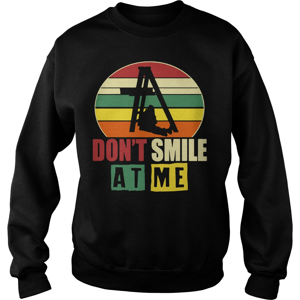 Don't smile at me vintage Sweater