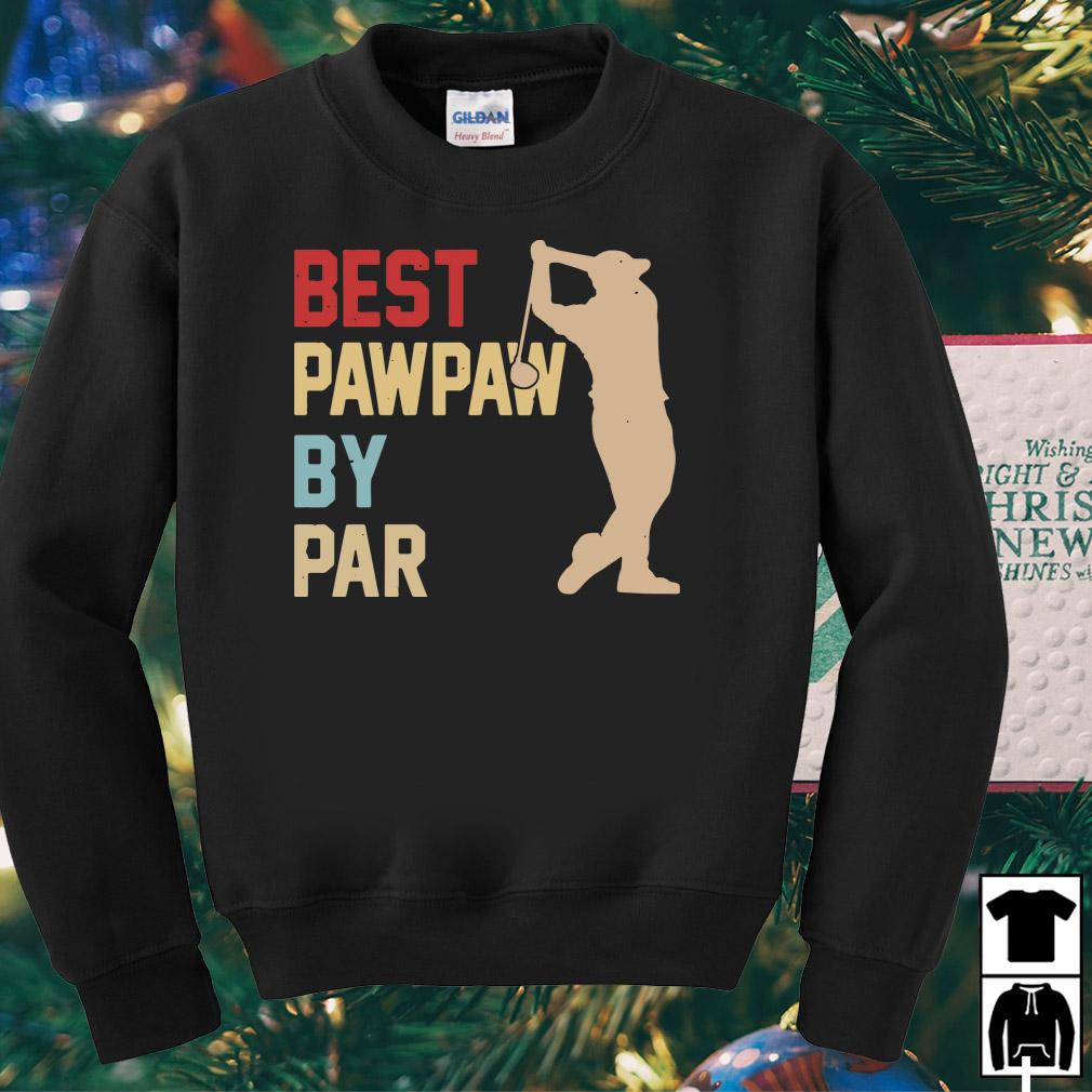 Golf Best Pawpaw by par shirt