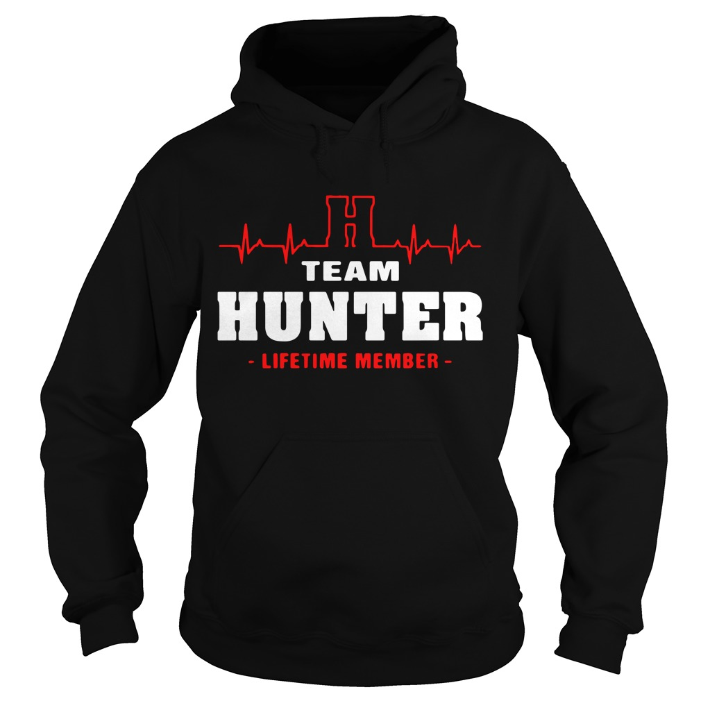 H team hunter lifetime member Hoodie