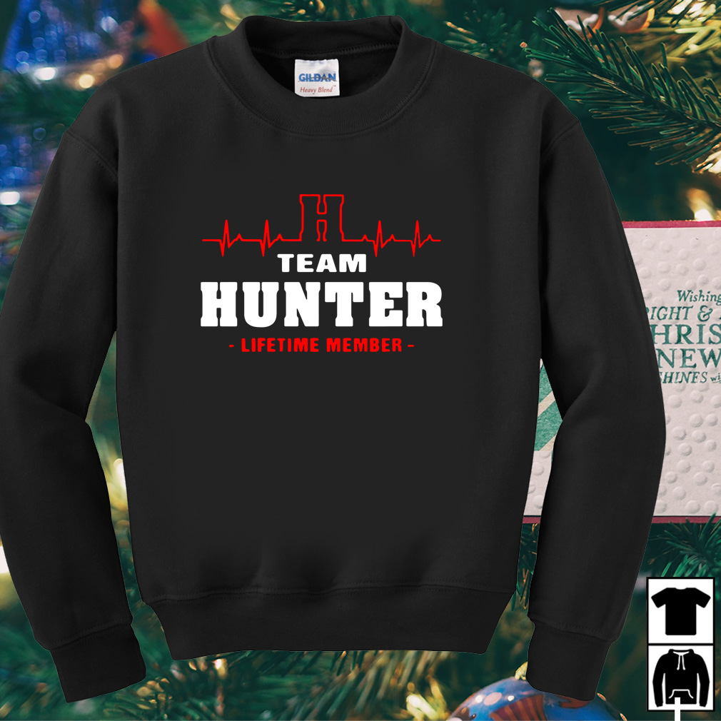 H team hunter lifetime member shirt