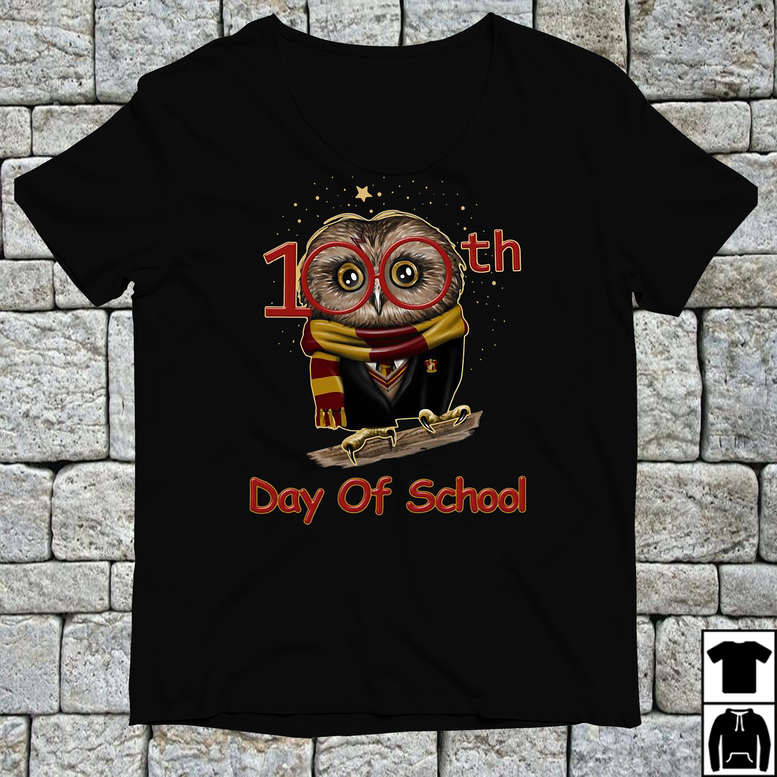 Harry Potter 100th days of school shirt