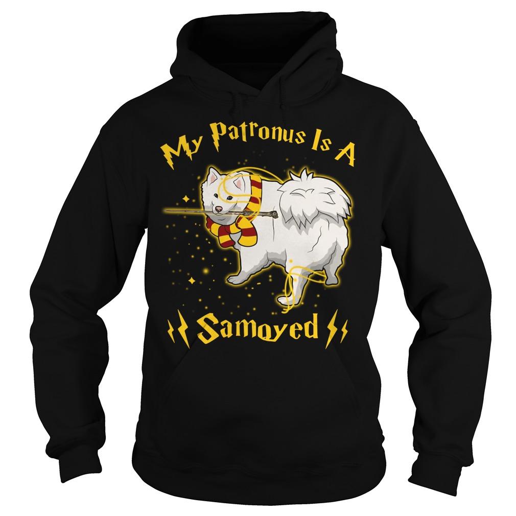 Harry Potter My Patronus is a Samoyed Hoodie