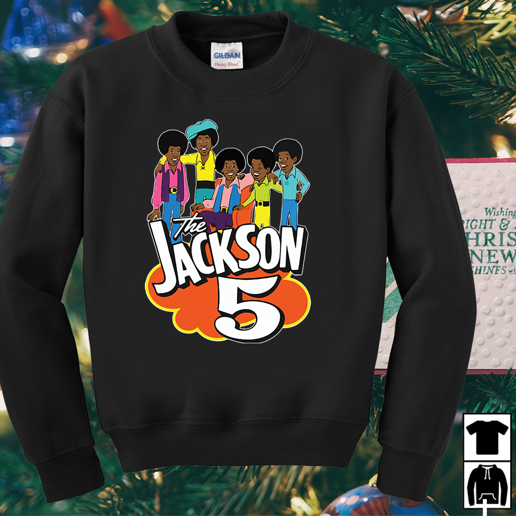 The Jackson 5 cartoon retro vintage shirt