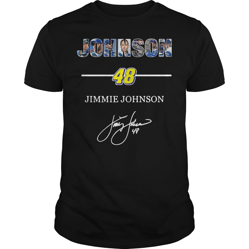 Johnson 48 Jimmie Johnson Guys Shirt