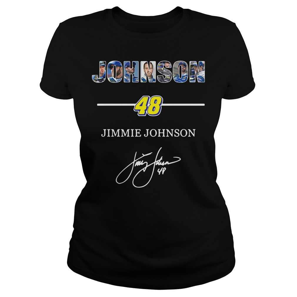 Johnson 48 Jimmie Johnson Ladies Tee
