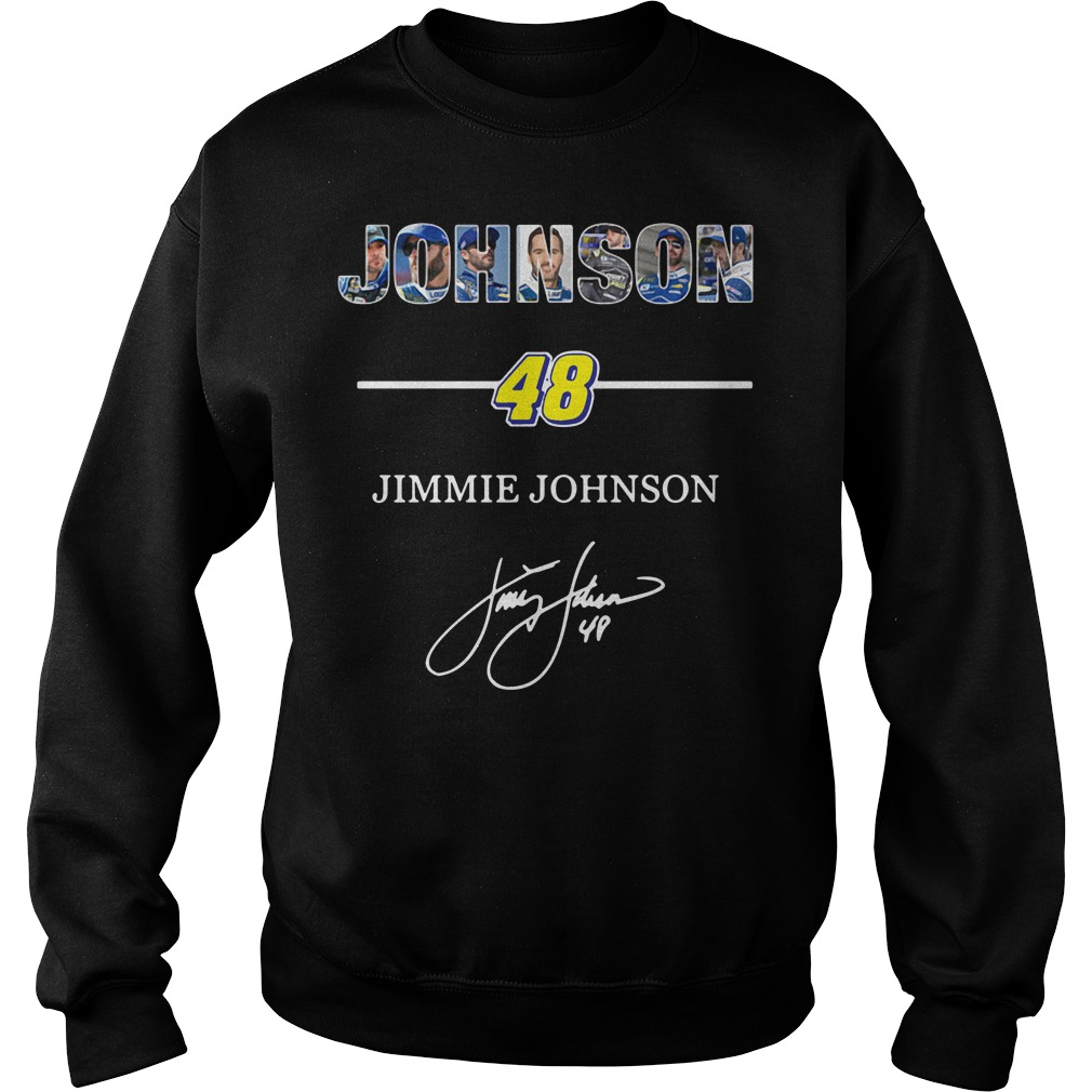 Johnson 48 Jimmie Johnson Sweater